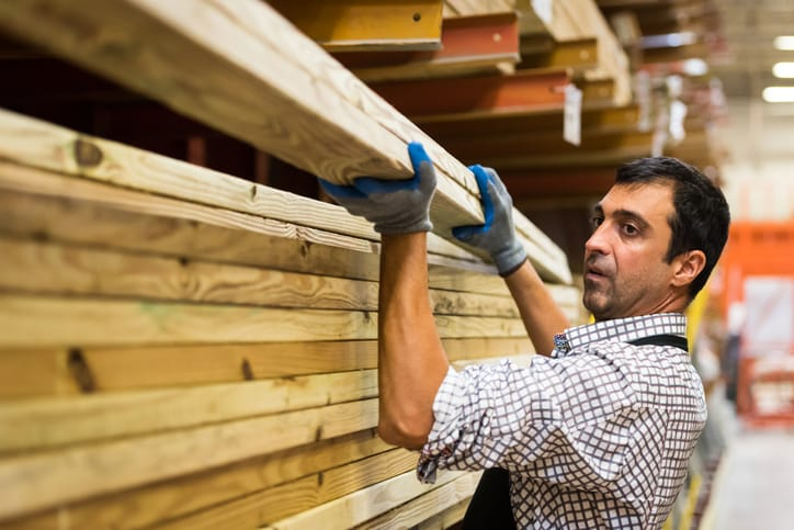 lumber warehouse worker